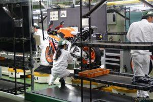 ホンダ バイク工場